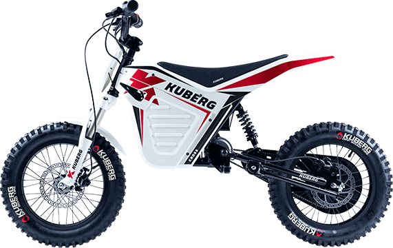 Kuberg Young Rider Cross White Edition