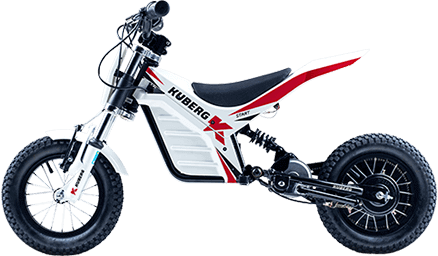 Kuberg Young Rider Start - White Edition