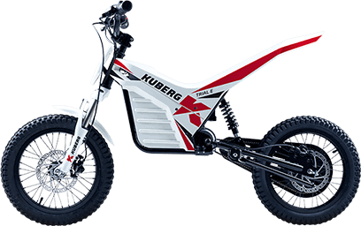 Kuberg Young Rider Trial White Edition