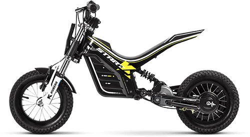Product shot for the Kuberg Start electric bike.